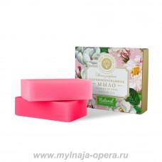 """Набор парфюмированного мыла """"Очарование розы"""", Мануфактура Дом Природы"""
