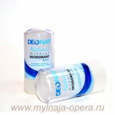 Натуральный дезодорант Кристалл ДеоНат (стик чистый) 60 гр