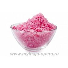 """Морская соль для ванн """"Высший свет"""" с эфирным маслом и лепестками розы, 200 гр TM Savonry"""
