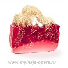 Мыло ручной работы  «Ягодный пунш» с экстрактом винограда, 100 гр TM Savonry